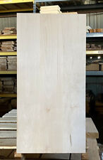 Basswood Bass Guitar body blank kiln dried 30 x 15 x  1.78 sanded 3pc Oversized