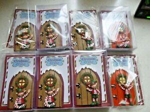 Job Lot. bargain. Tombola , Raffle Prizes. Just a Bargain!! 8 Elf Door Plaques