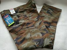 New Wrangler Outdoor Performance Camo Comfort Flex Straight Fit Size Various