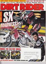 DIRT RIDER - April 1999 - Ezra Lusk / McGrath / '99 KTM 300 E/XC / Honda XR400R