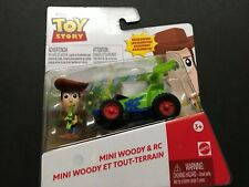 Disney Pixar Toy Story Mini Woody and RC New