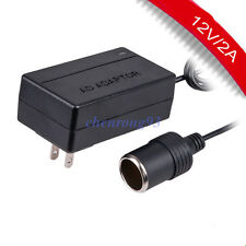 HOT AC 100~240V to DC 12V 2A Car Converter Adapter Charger Power Supply US Plug