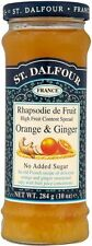 ST. Dalfour Arancione & Ginger Jam NO ADDED SUGAR (4x284g)