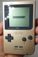 Nintendo Game Boy Pocket MGB-001 Gold - Tested & Working Gameboy - U.S Seller