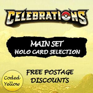 Celebrations Main Set | HOLO CARDS Selection | Pokémon TCG | New Discounts