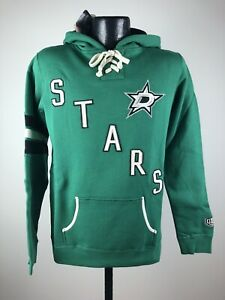 Women's Old Time Hockey Newbury Collection Dallas Stars Sweatshirt Hoodie NWT L