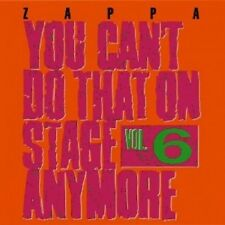FRANK ZAPPA - YOU CAN'T DO THAT ON STAGE ANYMORE,VOL.6  (2 CD)  ROCK & POP  NEU