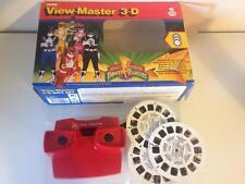 Visor de película 3D Rangers Turbo Power. en Caja Original. pieza rara.