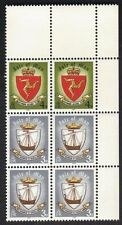 Island Of Man 146 & 147 Block of 6 Stamps 1979 Viking Ship MNH #2