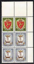 Island Of Man 146 & 147 Block of 6 Stamps 1979 Viking Ship MNH #2