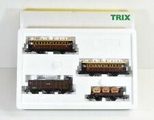 "Trix H0 -Wagenset Nebenbahn ""Pfalz Bahn"" 4 tlg- PB Ep. I Art.-Nr. 21252 / AG 457"