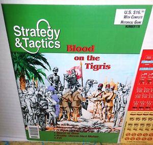 Strategy & Tactics Mag w/ Game #176  WW1 Blood on the Tigris UK+India -Turkey