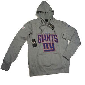Nike sz S Property Of New York Giants NFL Training Dri-Fit Hoodie  Men's AO4212