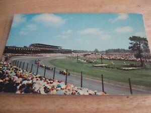 Indy 500 Chrome Postcard