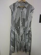 TARGET COTTON ,BLACK AND WHITE DRESS SIZE 12/14