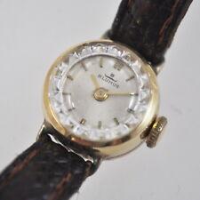alte Blumus Armbanduhr - Damenuhr - 14K - 585 Gold - Vintage Clock - Handaufzug