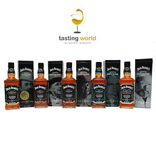 KOMPLETT SET Jack Daniels Master Distiller Series No. 1 - 2 - 3 - 4 - 5 LIMIETRT