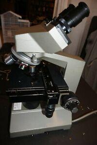 Olympus CH Binocular Microscope Complete
