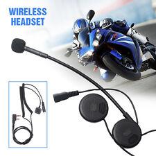 Stereo Wireless Bluetooth Headset Earphone For Motorcycle Helmets Wakie talkies