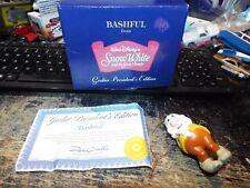 Disney BASHFUL from Snow White Seven Dwarfs Ornament Grolier Presidents Edition