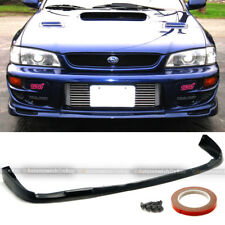 For: Impreza GC8 Urethane STI Style PU Front Bumper Chin Lip Body Kit