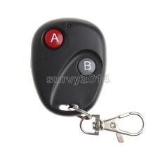 1PCS RF Remote Control Key Garage Gate Door Transmitter Wireless 433MHz