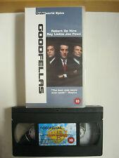 Underworld Epics. GOODFELLAS VHS VIDEO. EAN:5014780120396. De Niro Liotta,Pesci.