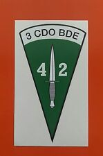 42 Comando Marina Real Pegatina de vinilo tintas Eco Solvente De Vinilo De 7-10 año