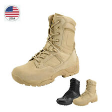 Us Men's Military Tactical Work Boots Hiking Motorcycle Combat Army Duty Boots