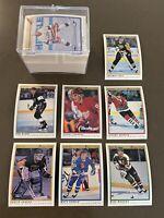 1990-91 OPC Premiere Hockey Set (132 cards); rks Jagr, Fedorov, Sundin, Roenick