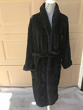 POLO Ralph Lauren Men's Women's Black Robe One Size Black