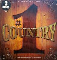#1 Country collectors edition Various Artists (CD, Mar-2009, 3 Discs, tin set