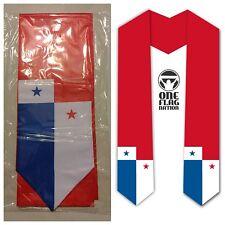 Graduation Stole / Sash - Panama Panamanian flag