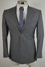 Perry Ellis Mens Gray Wool Blend CLASSIC FIT Blazer Sport Coat Jacket SIZE 38R