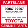 90987-02007 Toyota OEM Genuine RELAY, HEADLAMP