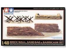 Tamiya 1/48 scale Brick/Sandbag/Barricade Set