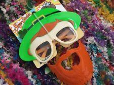 Irish Leprechaun Shades Mustache Mask Costume glasses by Sun-Staches