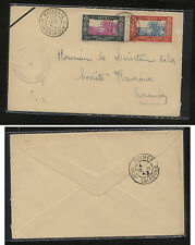 New Caledonia 145,151 on censor cover  , local use 1943       MS0307