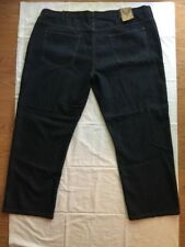Indigo Collection Blue Jeans Size 52 X 32 NEW