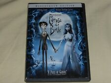 The Corpse Bride Widescreen Edition Dvd