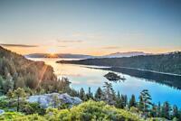 Lake Tahoe Emerald Bay Sunrise Photo Art Print Mural Poster 36x54 inch