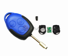 New Ford Transit 2006 - 2014 MK7 Genuine 3 Button Blue Remote Key Fob With Blade