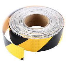 "2"" X 150 Feet Reflective Hazard Caution Stripe Tape Yellow And Black 2 InchHot"