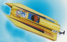 """Moquito Fast Electric Model Boat Ship Plans, Templates and Instructions 21"""" Long"""