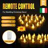 24pz Candele Tremolante Candela TEALIGHT a Led Luce Oscillante Con Telecomando