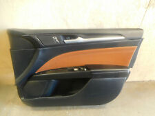 2018 2019 Ford Fusion hybrid  Right Front Door Panel  DS73-F23756   Black Color