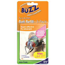 The Buzz FLY CATCHER BAIT REFILL 3 x 4g Packs