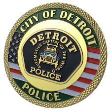 Detroit Police Department / DPD G-P Challenge coin 1146#