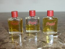 3 PUNJAB Mini Perfume Bottles