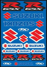 Factory Effex Suzuki GSXR Gixxer Decal Sheet 21 Stickers In All
